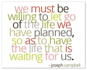 Joseph Campbell - Willing To Let Go